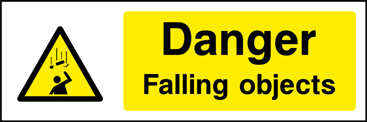 Falling Objects Sign Health And Safety Signs