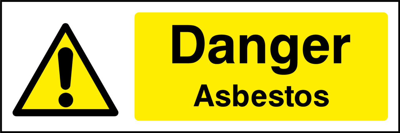 asbestos safety sign health and safety signs. Black Bedroom Furniture Sets. Home Design Ideas