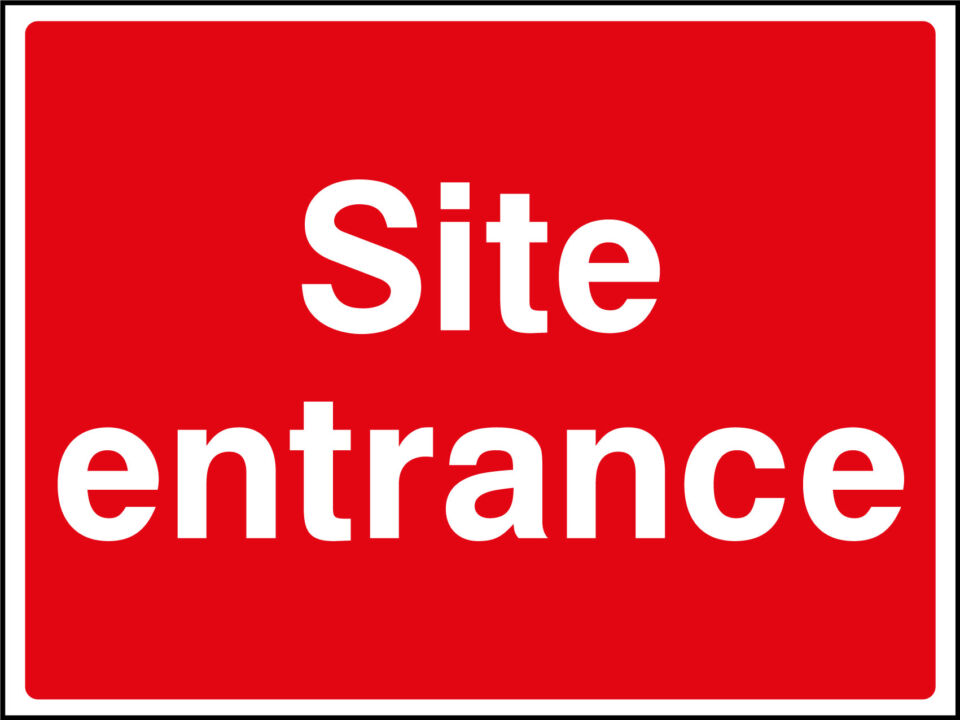 Site Entrance Sign Health And Safety Signs
