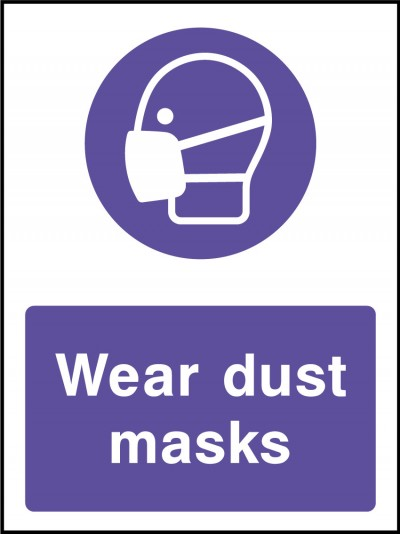 Dust Masks Sign