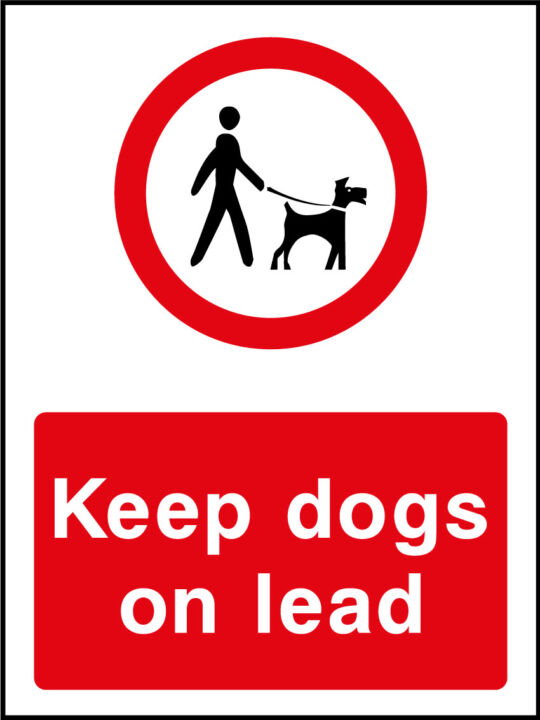 Keep Dogs On Lead Sign Health And Safety Signs