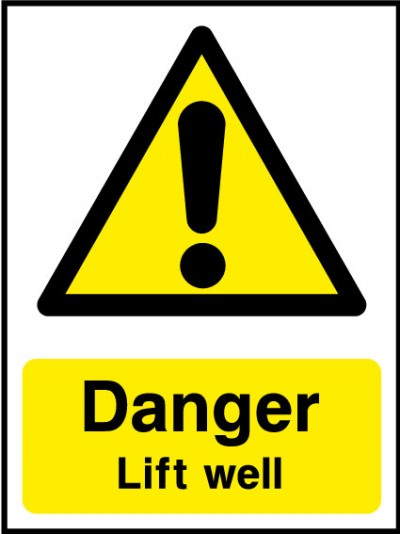 Lift well sign