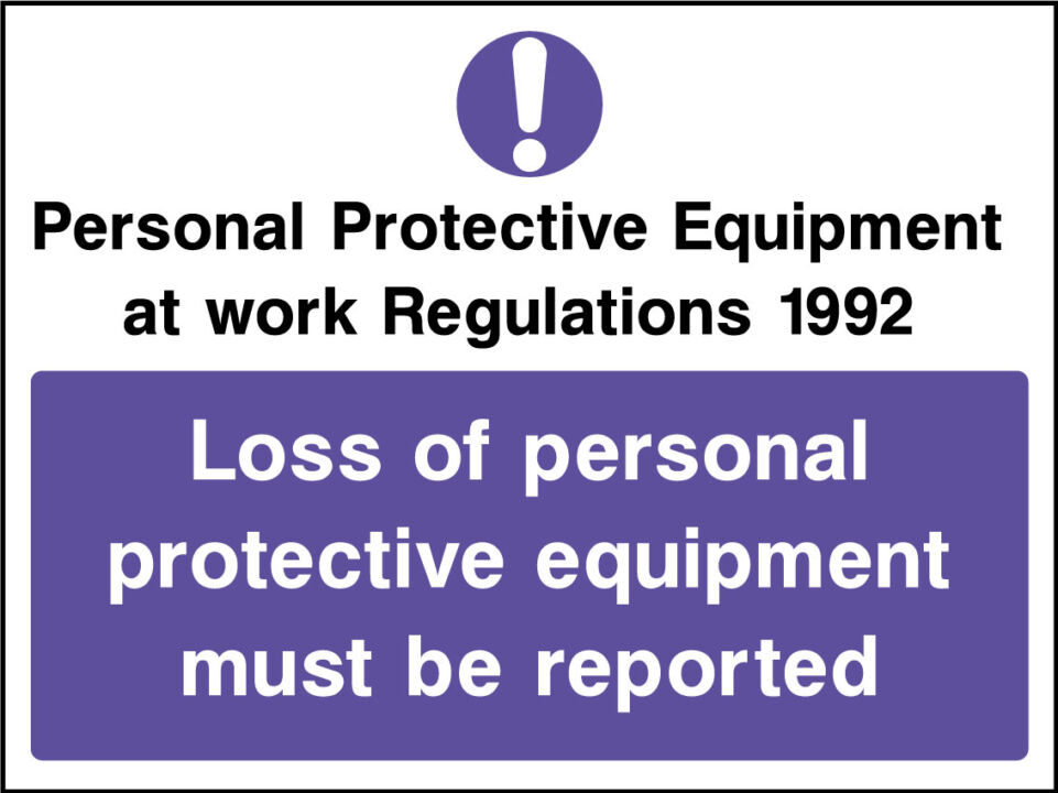 Protective Clothing Signs Health And Safety Signs