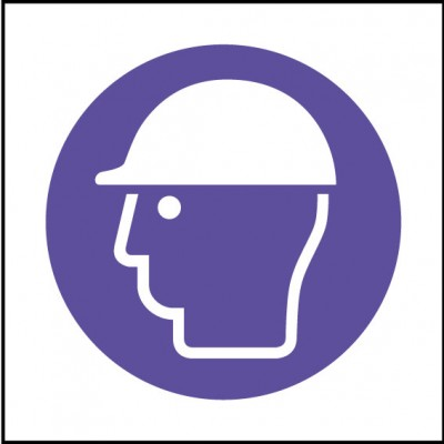 Safety helmets sign