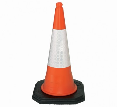 Contractor 1m two piece motorway traffic cone