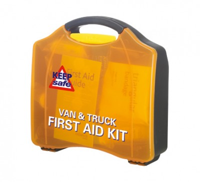 Keep safe truck and van first aid kit
