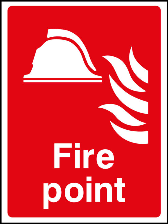 Fire Point Sign Health And Safety Signs
