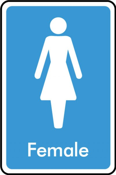 Female WC sign