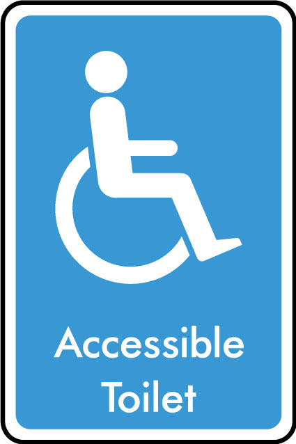 Accessible Toilet Sign Health And Safety Signs