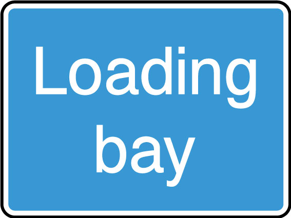 Loading Bay Sign Health And Safety Signs