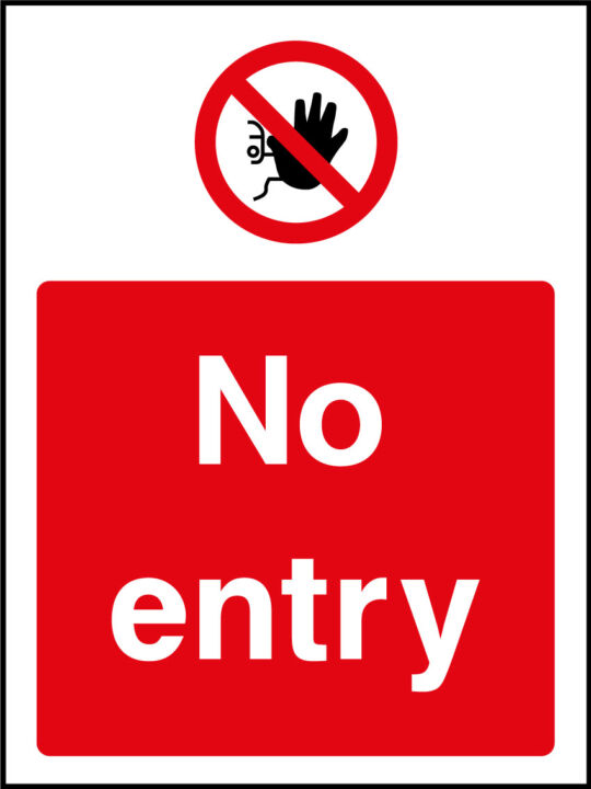 No access signs health and safety signs vat no entry sign buycottarizona