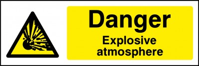 Explosive atmosphere sign