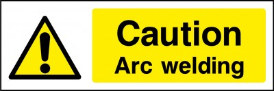 Arc welding sign