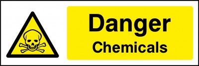 Chemicals sign