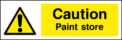 Paint store sign