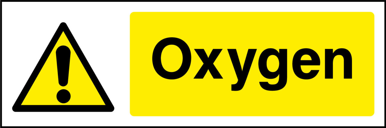 Oxygen Sign Health And Safety Signs