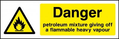 Petrolium mixture sign