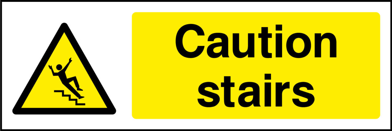 Caution Stairs Sign Health And Safety Signs