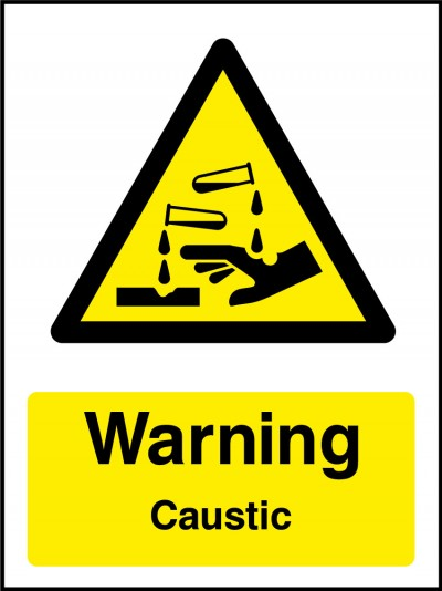 Caustic sign