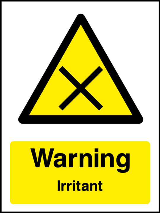 Irritant sign health and safety signs irritant sign biocorpaavc Gallery