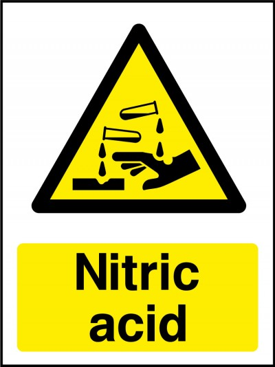 Nitric acid sign