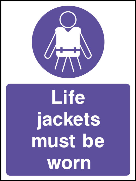 Life Jackets Sign Health And Safety Signs