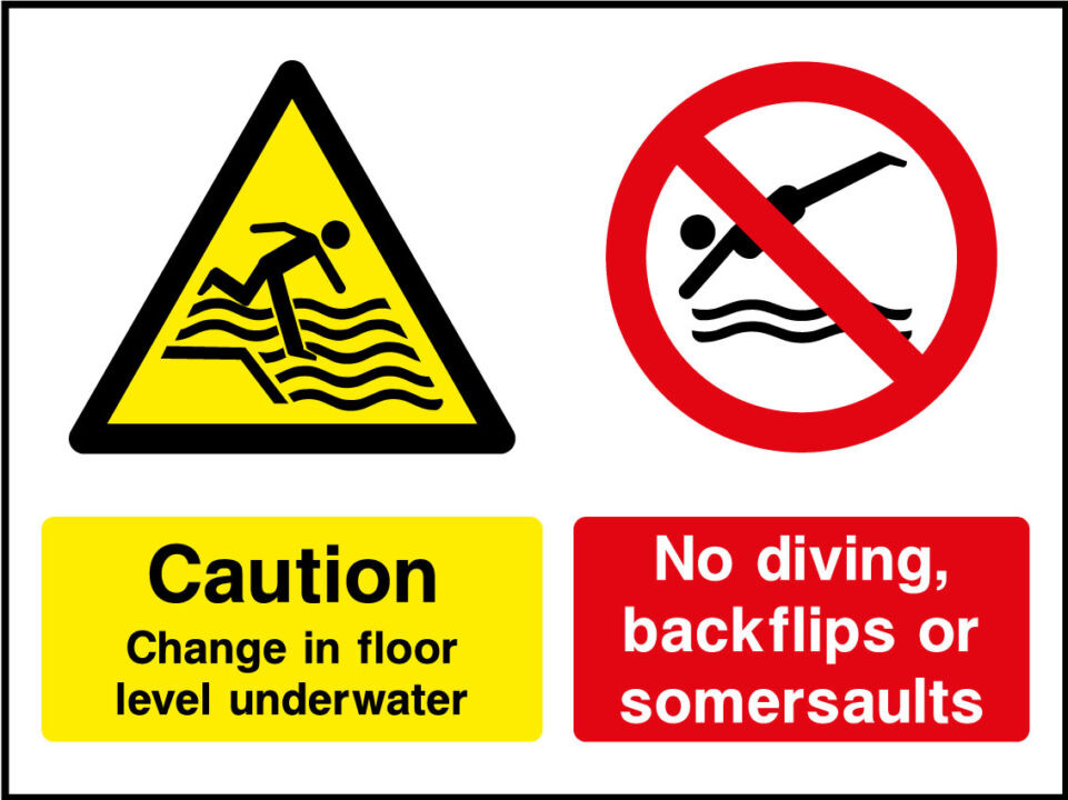Water Safety Signs Health And Safety Signs