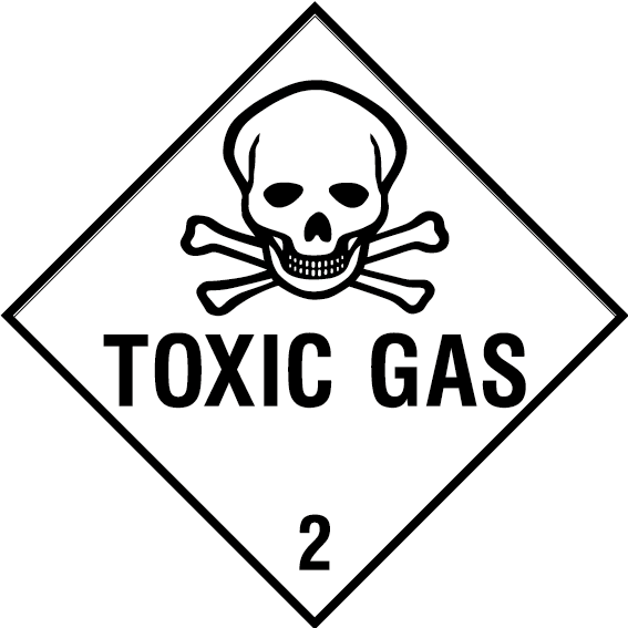 Toxic Gas Sign Health And Safety Signs