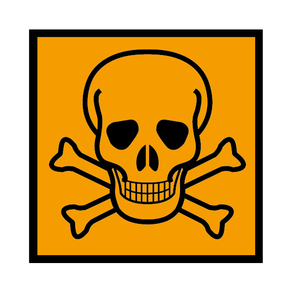 toxic sign health and safety signs