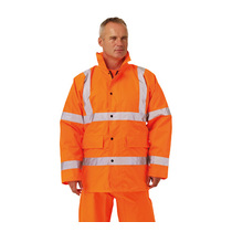 Keep safe EN 471 high visibility safety jacket
