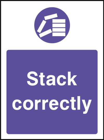 Stack correctly sticker
