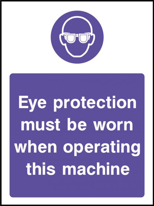 Eye protection sticker health and safety signs - Stickers protection cuisine ...