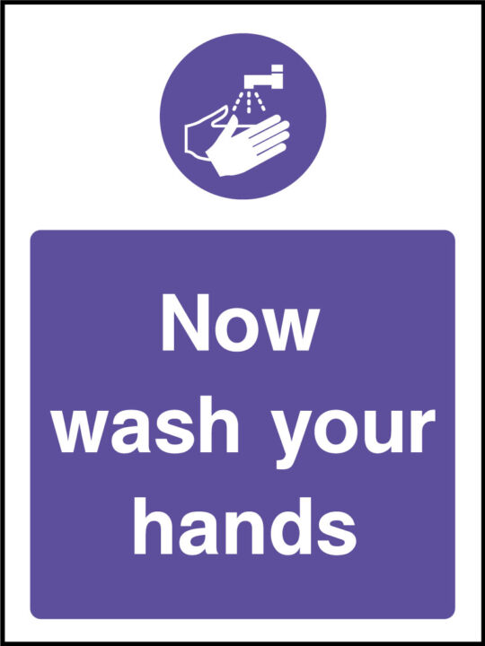Wash Your Hands Sticker Health And Safety Signs