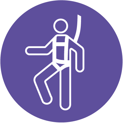 Harness symbol   Health and Safety Signs