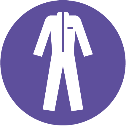 Overalls Symbol Health And Safety Signs