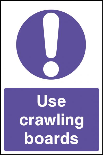 Use crawling boards sticker
