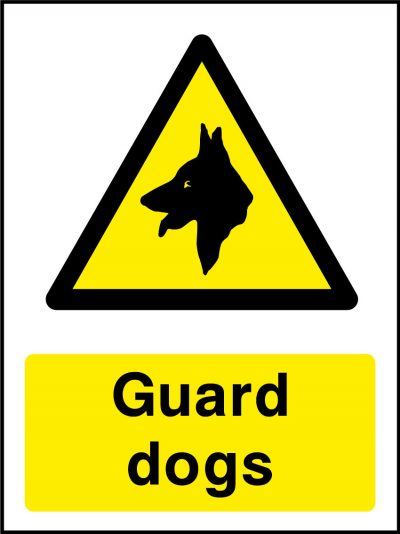 Guard dogs stickers
