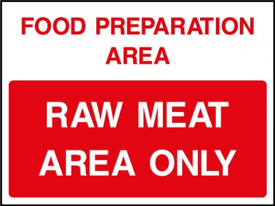 Raw Meat Food Prep Sticker