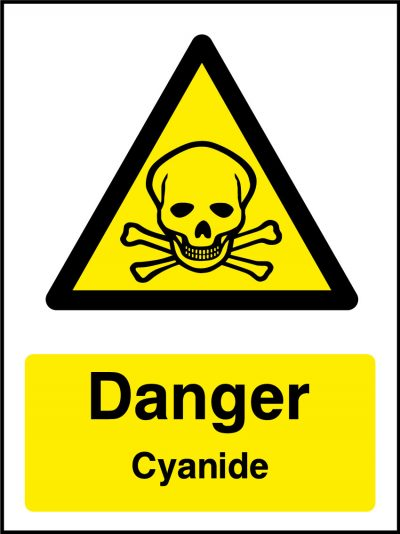 Chemical Warning Mini Stickers Health And Safety Signs