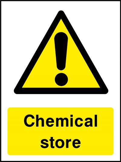 Chemical store stickers