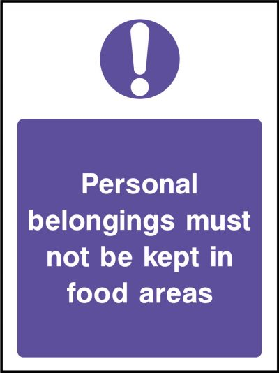 Personal belongings stickers