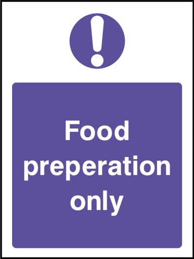 Food preperation stickers